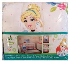 Princess Baby Crib Bedding Sets Nursery Beautiful Cinderella Crib Bedding For Sweet Nursery