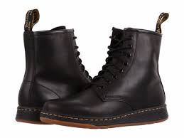buy s boots uk dr martens newton 8 eye boot mens black leather casual lace up