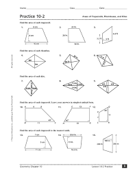 rhombus worksheet free worksheets library download and print