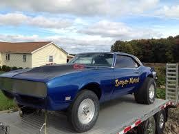 blue 68 camaro 1968 camaro drag car roller chevrolet camaro 1968 for sale