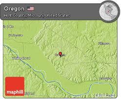 map of oregon mo free physical map of oregon