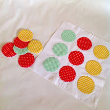 sew and appliqué a circle easily 6 steps with pictures