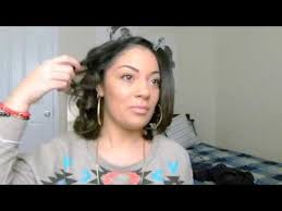 wand curl styles for short hair curling short hair shoulder length hair youtube