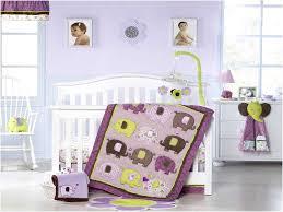 Purple Elephant Crib Bedding Crib Bedding For Girls Purple Home Design U0026 Remodeling Ideas