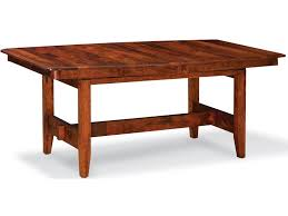 simply amish shenandoah trestle table with 4 leaves becker simply amish shenandoah trestle table with 4 leaves becker furniture world dining room table