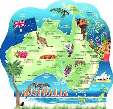 major cities of australia map australia cities map world maps