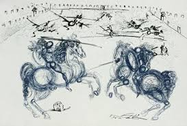 salvador dali after les cavaliers bleus catawiki