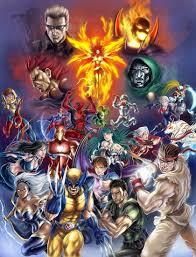 ghost rider marvel vs capcom wallpapers video games comics wolverine superheroes ryu capcom marvel vs