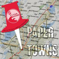 Paper Town Map Graphic Design U2014 Carly Mccarthy Photography