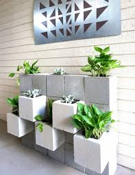 Make A Brick Succulent Planter - diy projects with cinder blocks ideas inspirations