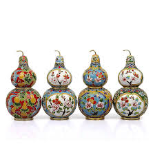 gourd vase ornament home decoration handmade vintage