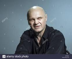 studio black and white portrait caucasian bald men emotions 19th