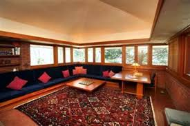 frank lloyd wright home interiors william p boswell house usonian indian cincinnati ohio