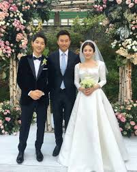 wedding dress song trending song hye kyo started after song joong ki said
