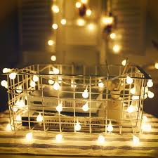 Interior String Lights by Brillare Round Battery Operated Led String Lights U2013 Kiyolo