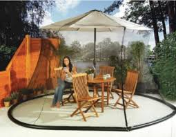 Outdoor Screen House by Fits Most All Patio Umbrella Sets