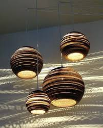 Paper Pendant Light Paper Pendant Lights Pendant Light Fixtures Made Of Corrugated