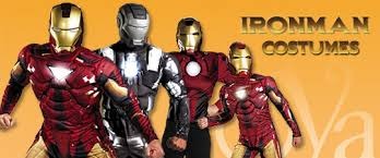 Iron Man Halloween Costume Fight Halloween Scared Iron Man Costumes
