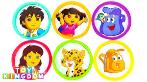learn colors with nick jr go diego go dora the explorer episode