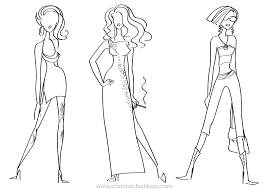 sketches fashions and ink fashion sketching
