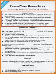 Personal Training Resume Sample by 9 Summary Of Qualification Resume Examples Foot Volley Mania