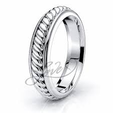 braided wedding band woven wedding rings sebastian braided band comfort 5mm