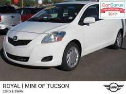 used toyota yaris for sale in tucson az edmunds