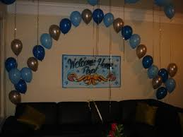 Home Interior Parties by Welcome Home Decoration Ideas The Best Welcome Home Party