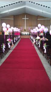 simple church wedding decoration photograph and sibu