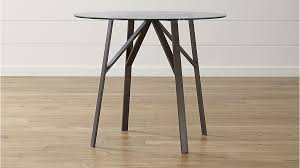 Dining Room High Tables by Belden Round High Dining Table With 42