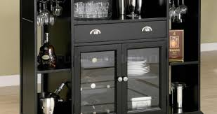 Metal Bar Cabinet Cabinet Exceptional Pleasant Wine Rack Modern Design Enthrall