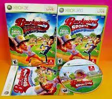 Backyard Sluggers Microsoft Xbox 360 Baseball 2010 Video Games Ebay