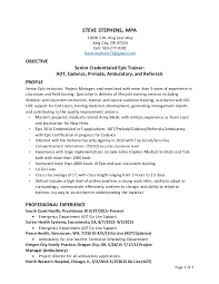Cnc Operator Resume Sample by Epic Trainer Resume Cv Cover Letter