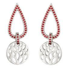 silver earring kuhjohl silver earring kge00163