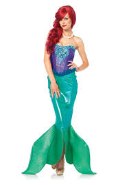 womens halloween costumes party city little mermaid halloween costume