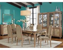 dining room set biscayne west in sand finish ai 80000 102set