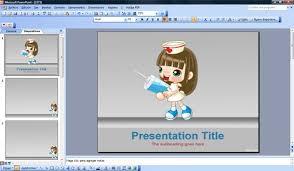 nursing powerpoint template