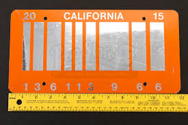 30 Meters To Feet The Time Machines 2015 License Plate Prop Store Ultimate Movie