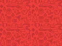 christmas pattern christmas pattern by derrick ligon dribbble
