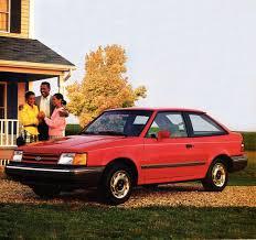 hatchback cars 1980s hatch heaven 1989 ford escort