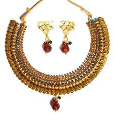 new necklace set gold images Attractive contemporary design gini necklace set 2044 necklace jpg