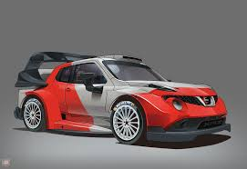 car nissan snap art u201cwhat if car u201d nissan juke wrc 2017 version