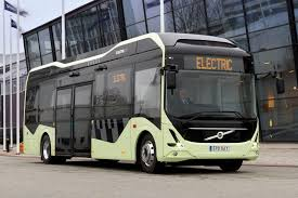 volvo bus and truck volvo introduces electric concept bus in sweden