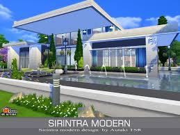 Sims 4 Modern House Design