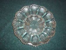glass deviled egg plate antique deviled egg plate ebay