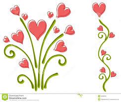 heart flower clipart clipartxtras