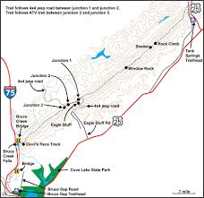 Map Of Tennessee State Parks by Map Ct Cumberland Mtn Segment Jpg
