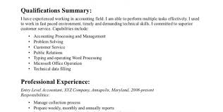 Sample Entry Level Accounting Resume by Entry Level Accountant Resume Sample 1 Entry Level Accountant