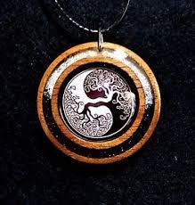 yin yang tree of pendant yin yang amulet taoism jewelry