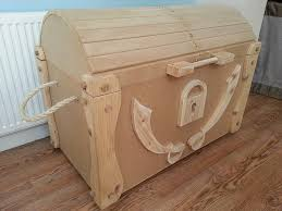 How To Build A Wood Toy Chest by Wooden Pirate Treasure Chest Diy Wooden Pirate Treasure Chest Toy
